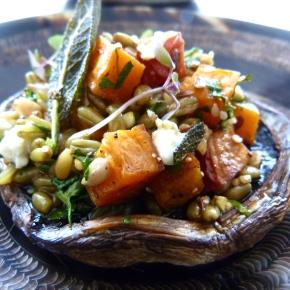 Roasted Portobello Mushroom &Friends