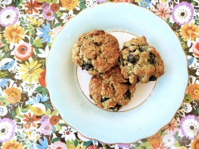 Little Oaty, Blueberry and Poppy Seed Scones
