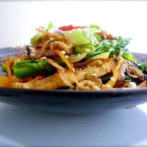 Vegetarian Fried Freekah