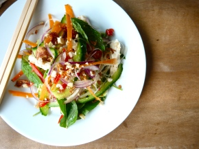 Thai-style Chicken, Coconut and Vermicelli Salad