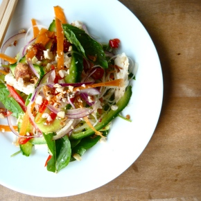 Thai-style Chicken, Coconut and VermicelliSalad