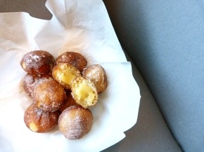 Lemon Curd & VanillaDoughnuts