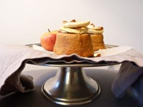 Toffee Apple, Almond + QuinoaCakes