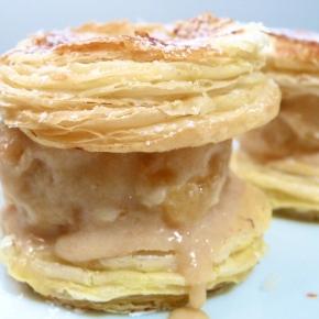 Apple Pie Ice CreamSandwiches