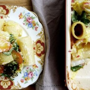 Giant Rigatoni, Heirloom Carrot + White CabbageBake