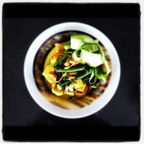 Spiced Tofu + Green BeanCurry