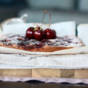 Boozy Cherry, Almond + Dark ChocolateSlice