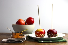 Sticky Toffee Apples
