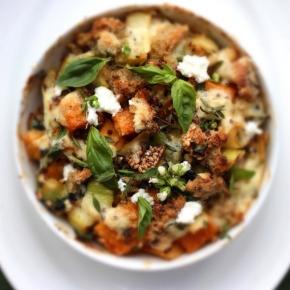 Tri-coloured Quinoa, Spinach, Ricotta + ButternutPumpkin