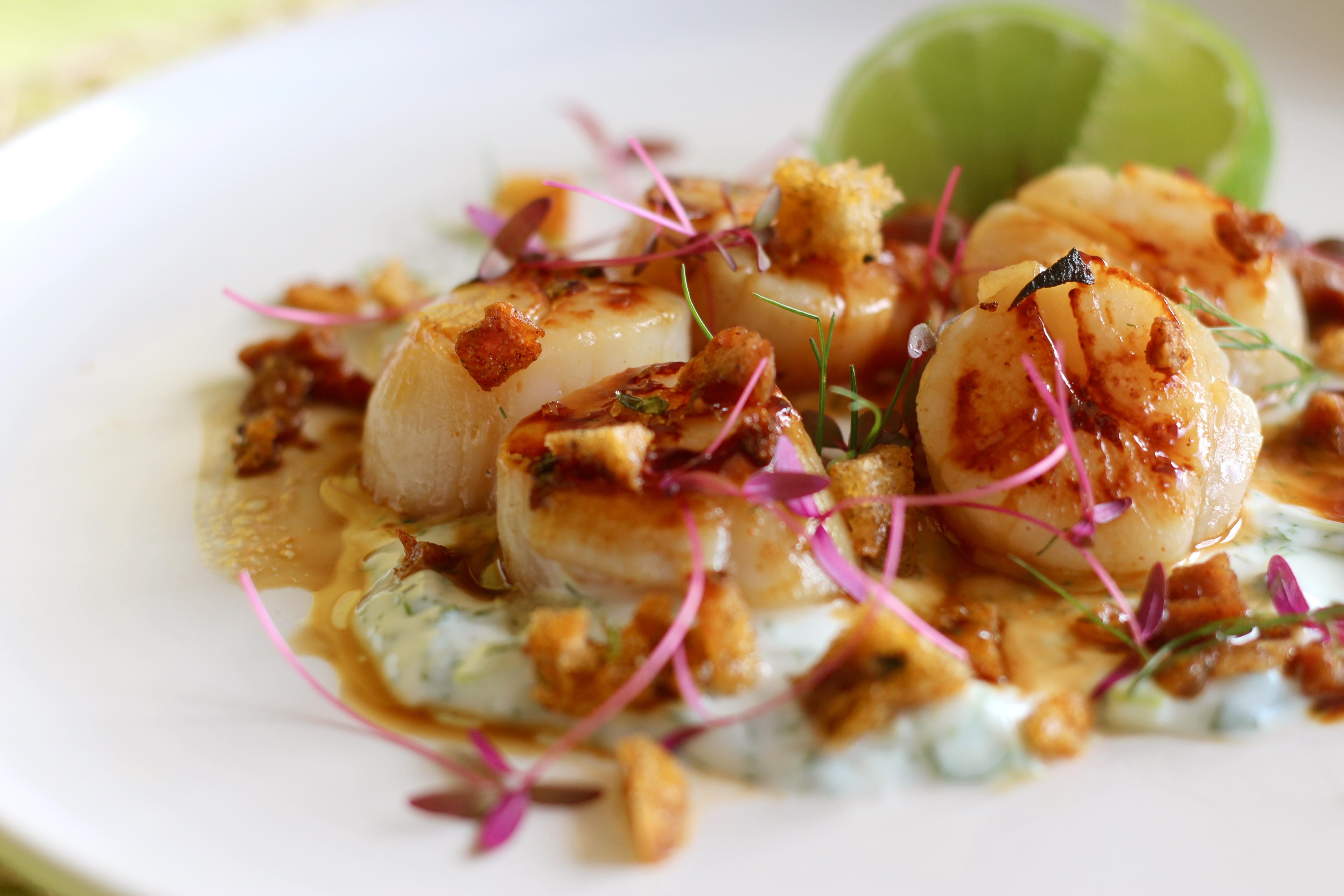 Crispy Broiled Scallops And Chorizo Recipes — Dishmaps