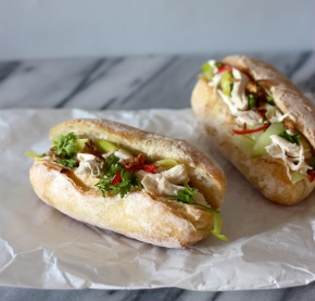 Cock-a-Leekie Bánh mì