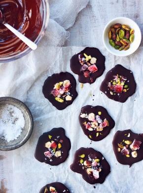 Sea Salt, Pistachio + Turkish Delight ChocolateSnaps