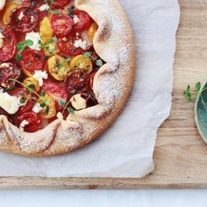 Tomato + Parmesan Crostata with Cumin +Oregano
